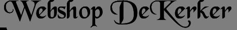 Webshop De Kerker
